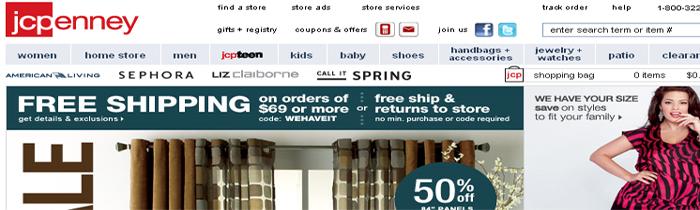 kupovina linkova loš SEO - JCPenney