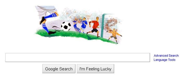 fudbalski google logo