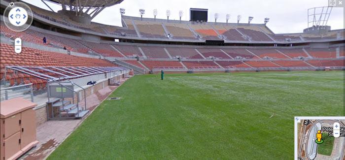 google mapa stadiona