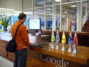 google recepcija