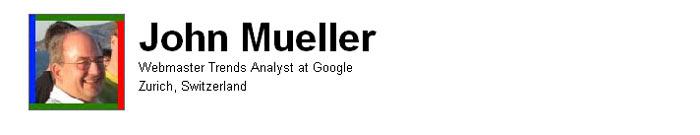 John Mueller sa Gugla