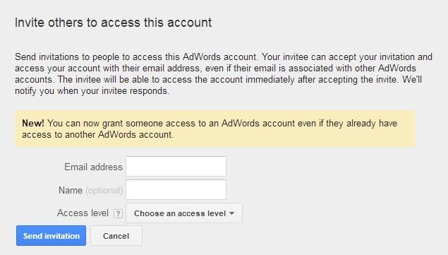 poziv korisnika u adwords