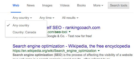 promena drzave Google pretrazivanje