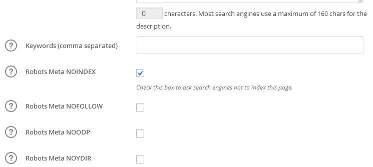 zabraniti Guglu indeksiranje stranice